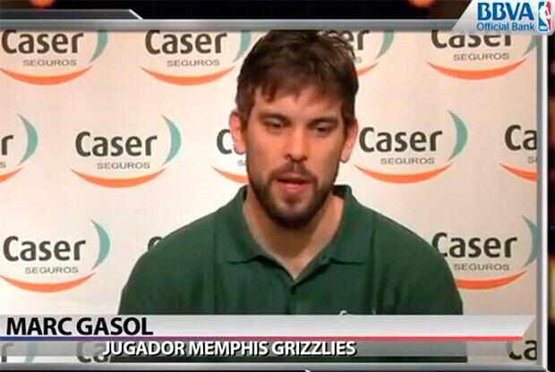 Marc Gasol, pívot de los Grizllies de Memphis