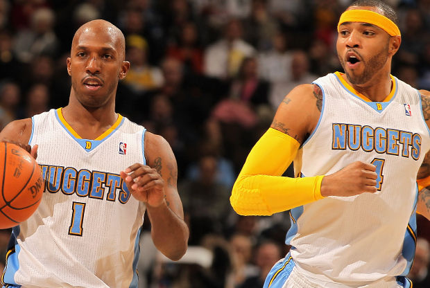 Chauncey Billups y Kenyon Martin./ Getty Images