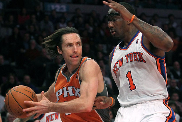 Steve Nash y Amar'e Stoudemire./ Getty Images