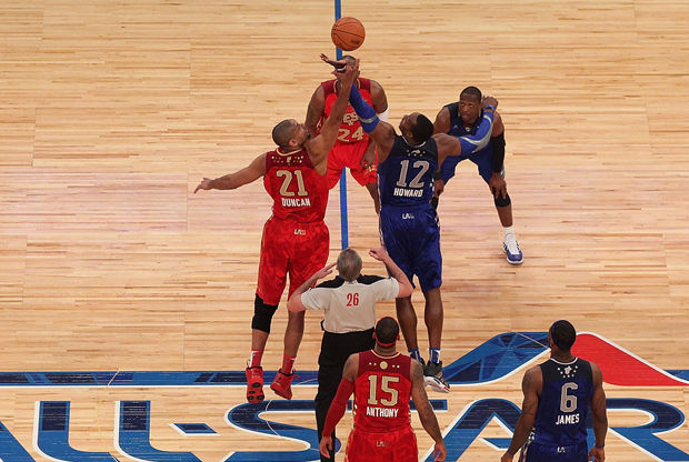 2011 NBA All-Star Game./ Getty Images
