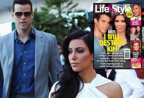 Kim Kardashian y Kris Humphries./ Getty Images