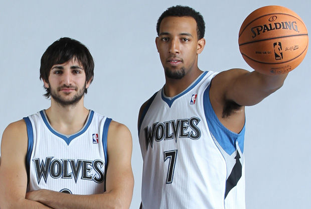 Ricky Rubio y Derrick Williams, novatos en los TWolves./ Getty