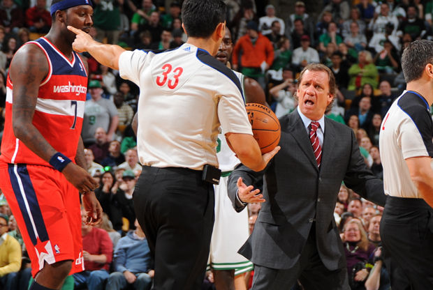 Flip Saunders./ Getty Images