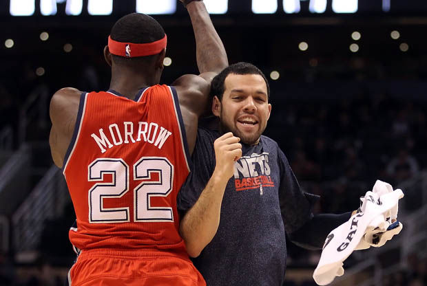 Anthony Morrow y Jordan Farmar./ Getty Images