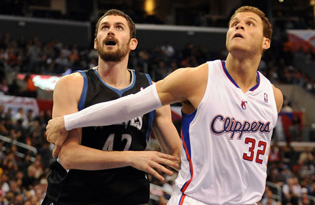 Kevin Love y Blake Griffin./ Getty Images