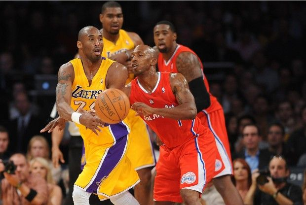 Lakers vs Clippers./ Getty
