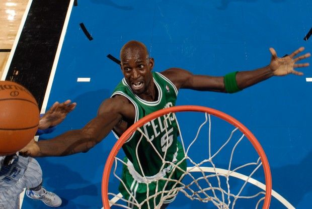 Kevin Garnett./ Getty