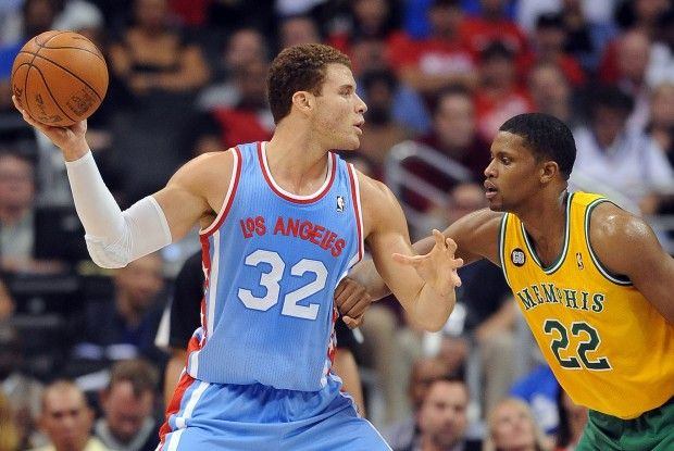 Blake Griffin y Rudy Gay./ Getty