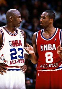 Kobe Bryant y Michael Jordan./ Getty Images