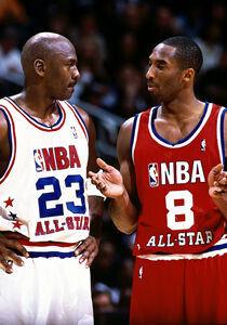 Kobe Bryant y Michael Jordan./ Getty Images
