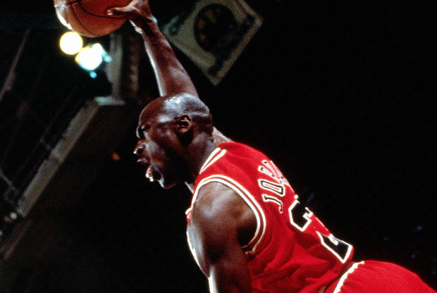 Michael Jordan 95-96./ Getty Images
