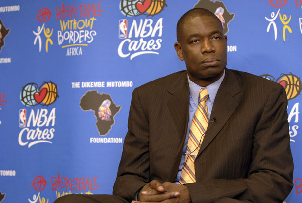 Dikembe Mutombo./ Getty Images