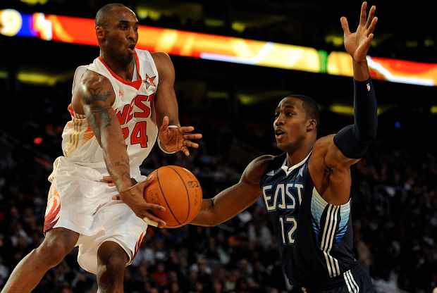 Kobe Bryant y Dwight Howard./ Getty Images