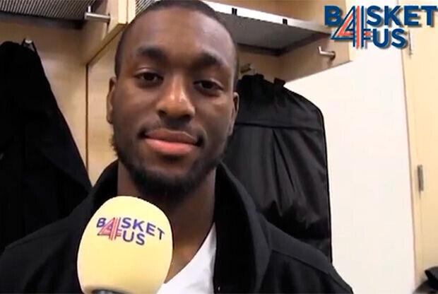Kemba Walker atendió a Basket4us en los vestuarios del Madison, en New York