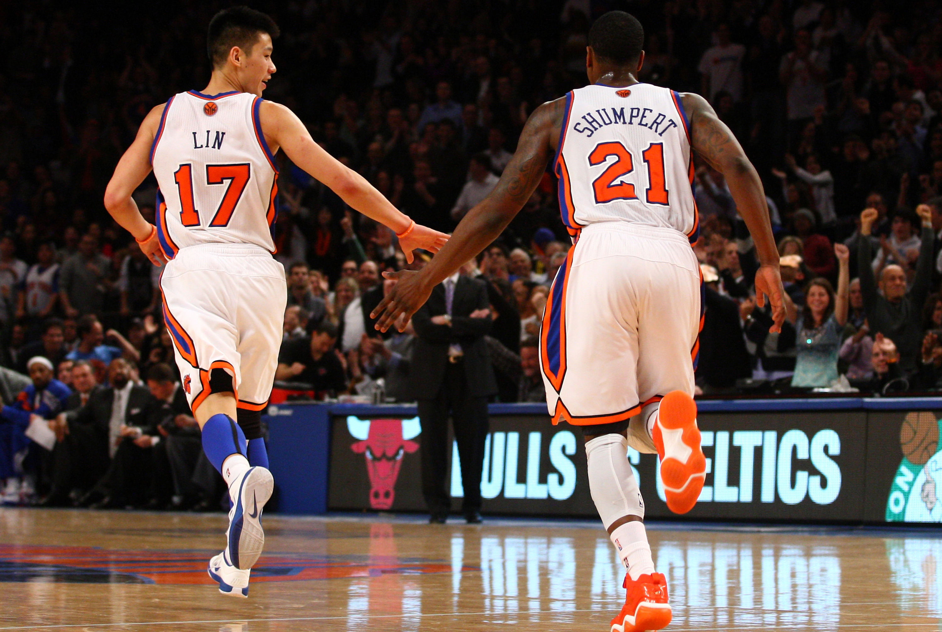 Iman Shumpert y Jeremy Lin./ Getty Images