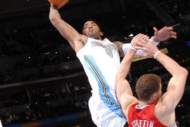 J.R. Smith y Blake Griffin./ Getty Images