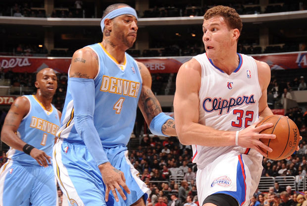 Blake Griffin y Kenyon Martin./ Getty Images