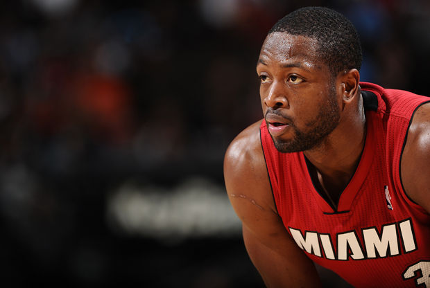 Dwayne Wade./ Getty Images