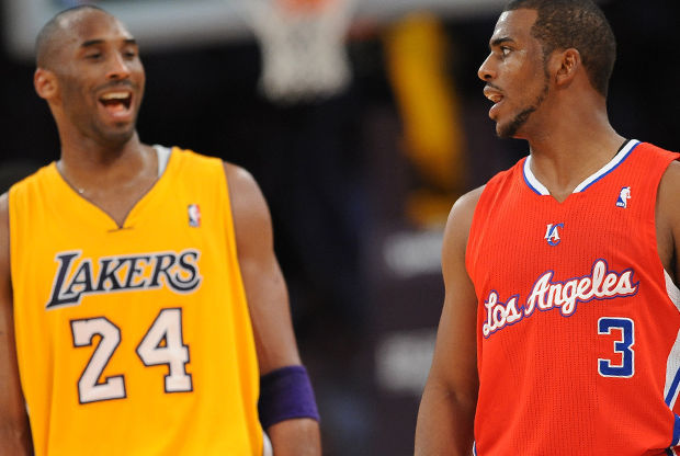 Los Angeles Clippers  vs Los Angeles Lakers./ Getty Images
