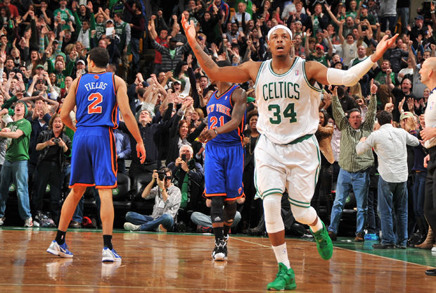Paul Pierce./ Getty Images