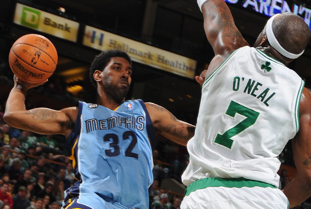 O.J. Mayo y Jermaine O'Neal./ Getty Images