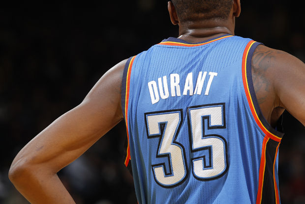 Kevin Durant./ GettyImages