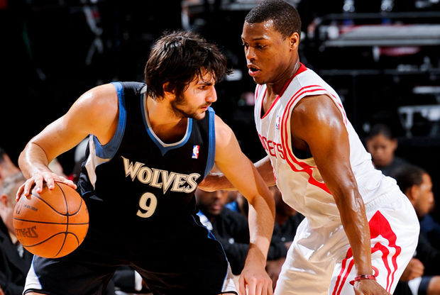 Ricky Rubio y Kyle Lowry./ Getty Images