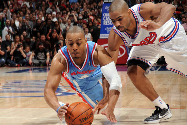 Randy Foye y Gary Neal./ Getty Images