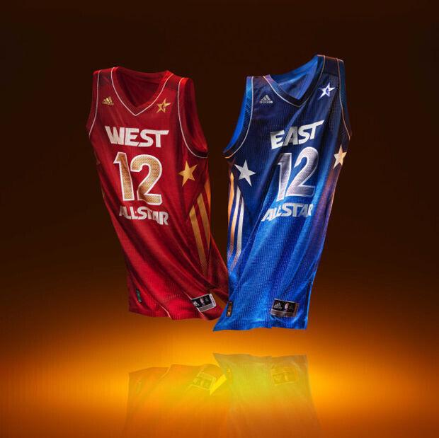 Las camisetas del All-Star