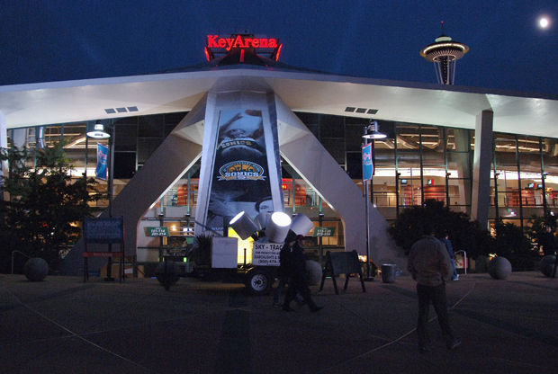 Key Arena (Seattle SuperSonics)./ Getty Images