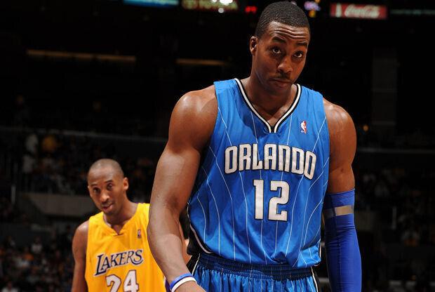 Dwight Howard y Kobe Bryant/ Getty Images