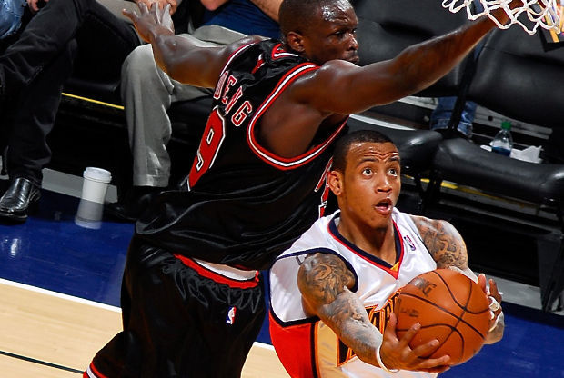 Monta Ellis y Luol Deng./ Getty Images