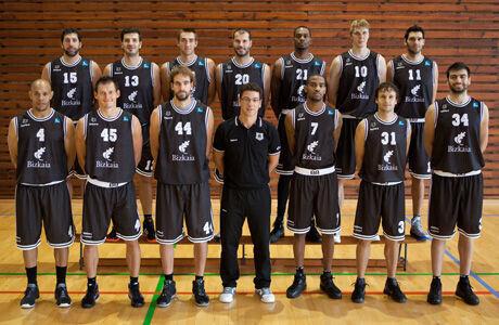 Plantilla del Gescrap Bilbao Basket./ ACB Media