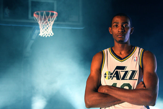 Jeremy Evans, jugador de Utah Jazz./ Getty