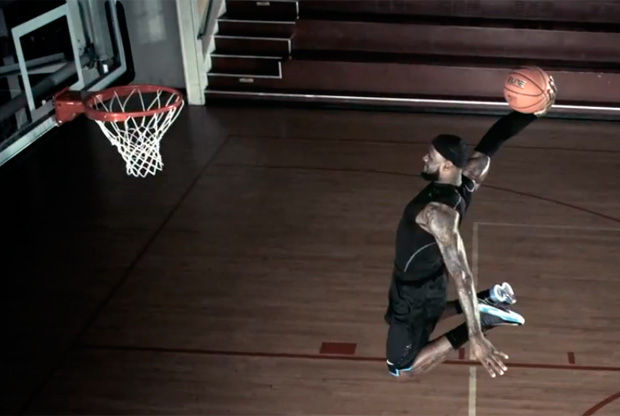 LeBron James y Nike+
