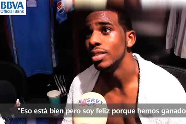 Chris Paul, base de los Clippers