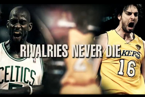 Boston Celtics y Los Angeles Lakers