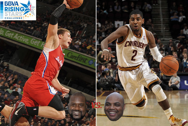 Blake Griffin y Kyrie Irving./ Getty Images
