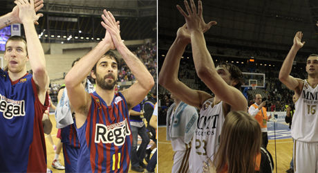 Barcelona Regal y Real Madrid - ACB MEDIA