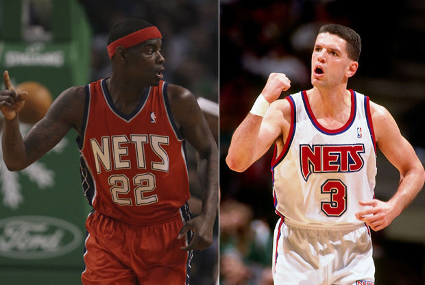 Anthony Morrow y Drazen Petrovic./ Getty Images