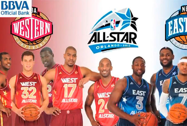 Los titulares del All-Star Game 2012