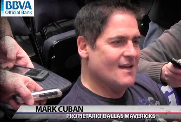 Mark Cuban, propietario de los Mavs