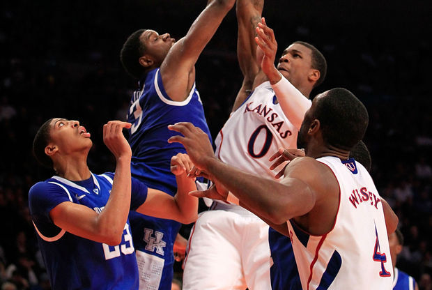 Kansas vs. Kentucky./ Getty Images