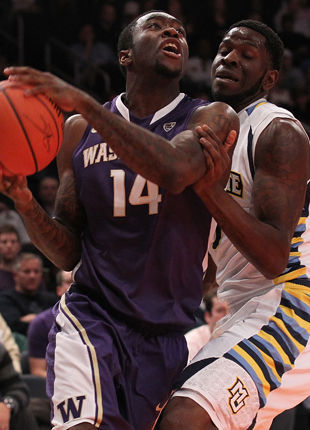Tony Wroten #14 - Washington Huskies./ Getty Images