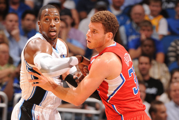 Dwight Howard y Blake Griffin./ Getty Images
