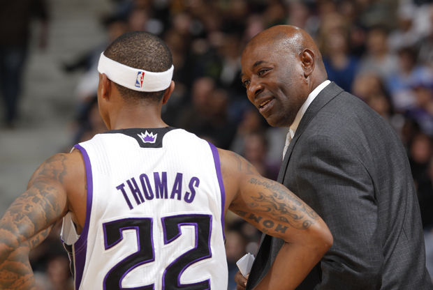 Keith Smart y Isaiah Thomas./ Getty Images
