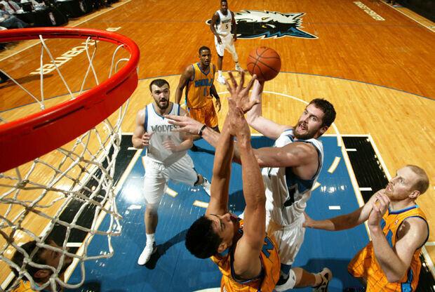 New Orleans Hornets v Minnesota Timberwolves./ Getty Images