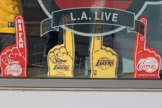 Lakers y Clippers./ Getty Images