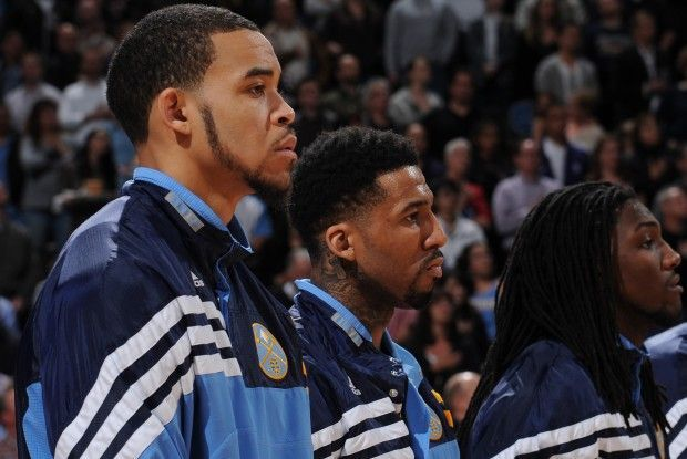 JaVale McGee y Tyson Chandler./ Getty Images