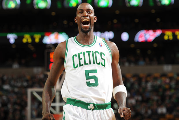 Kevin Garnett./Getty Images